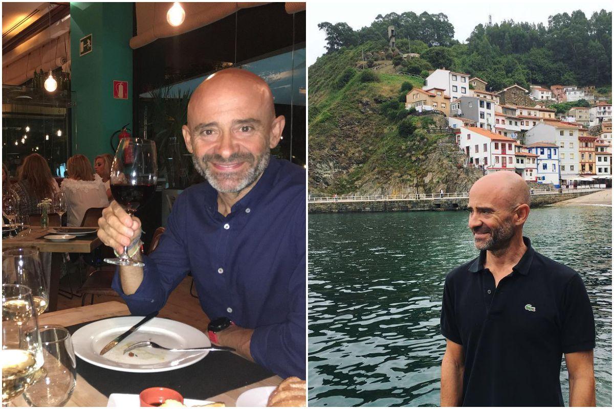De cumpleaños en el restaurante 'El Ochenta' y en Cudillero, Asturias.