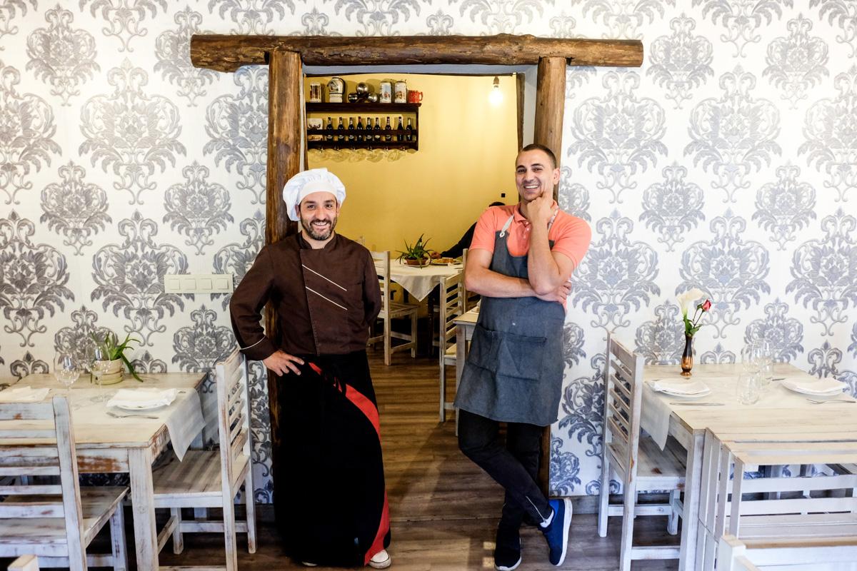 Jorge y Alex montaron el negocio hace poco más de dos años y son un éxito en la zona.