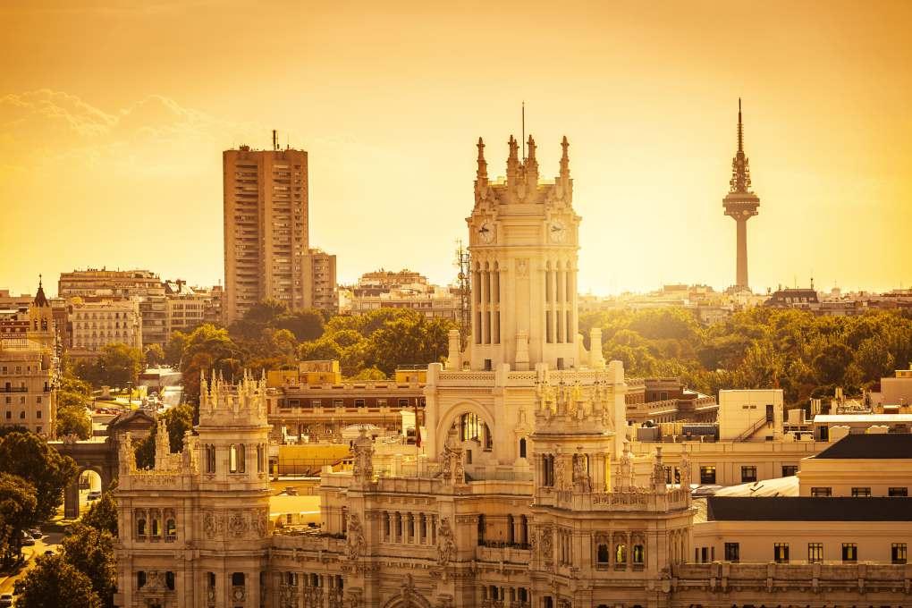Madrid siempre es una buena opción. Foto: Shutterstock.