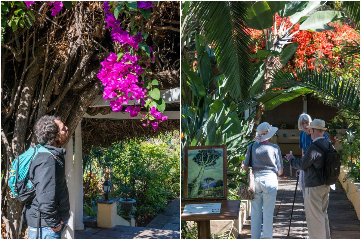 Por estos jardines han pasado grandes nombres, desde Agatha Christie a Dalí.