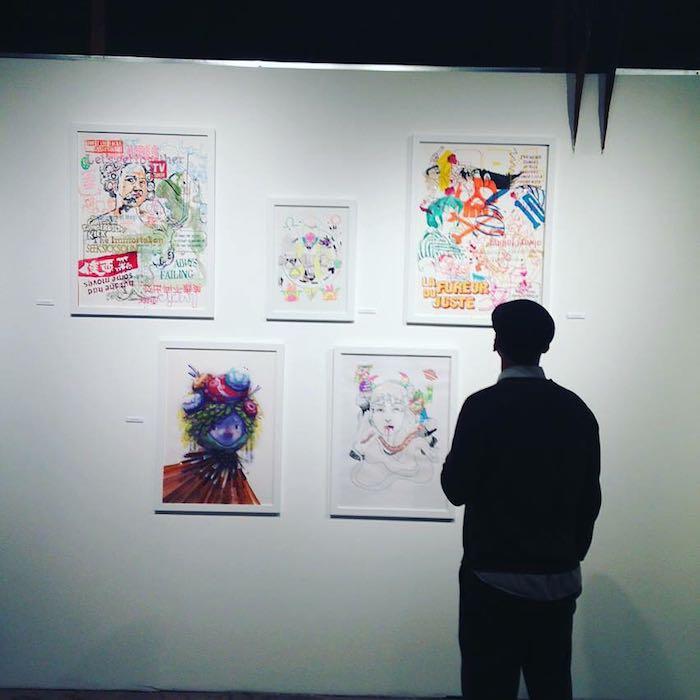 Una de las muestras de la galería. Foto: Facebook.