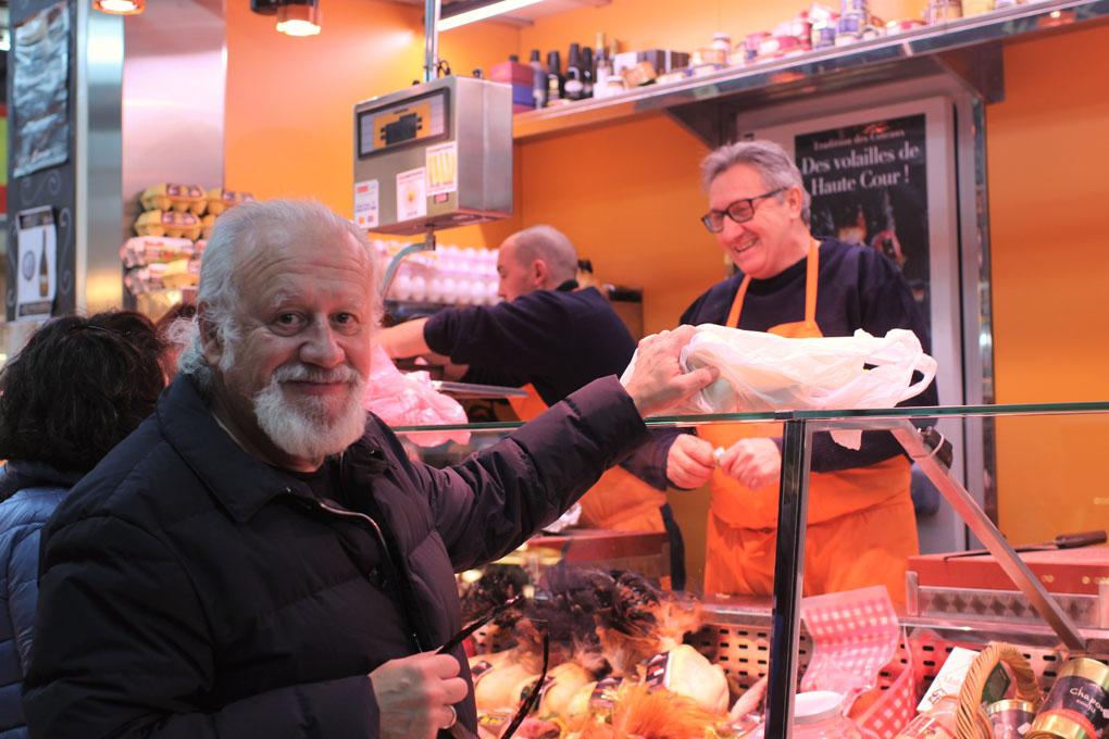 Juan Echanove, uno de los clientes más fieles de Higinio.