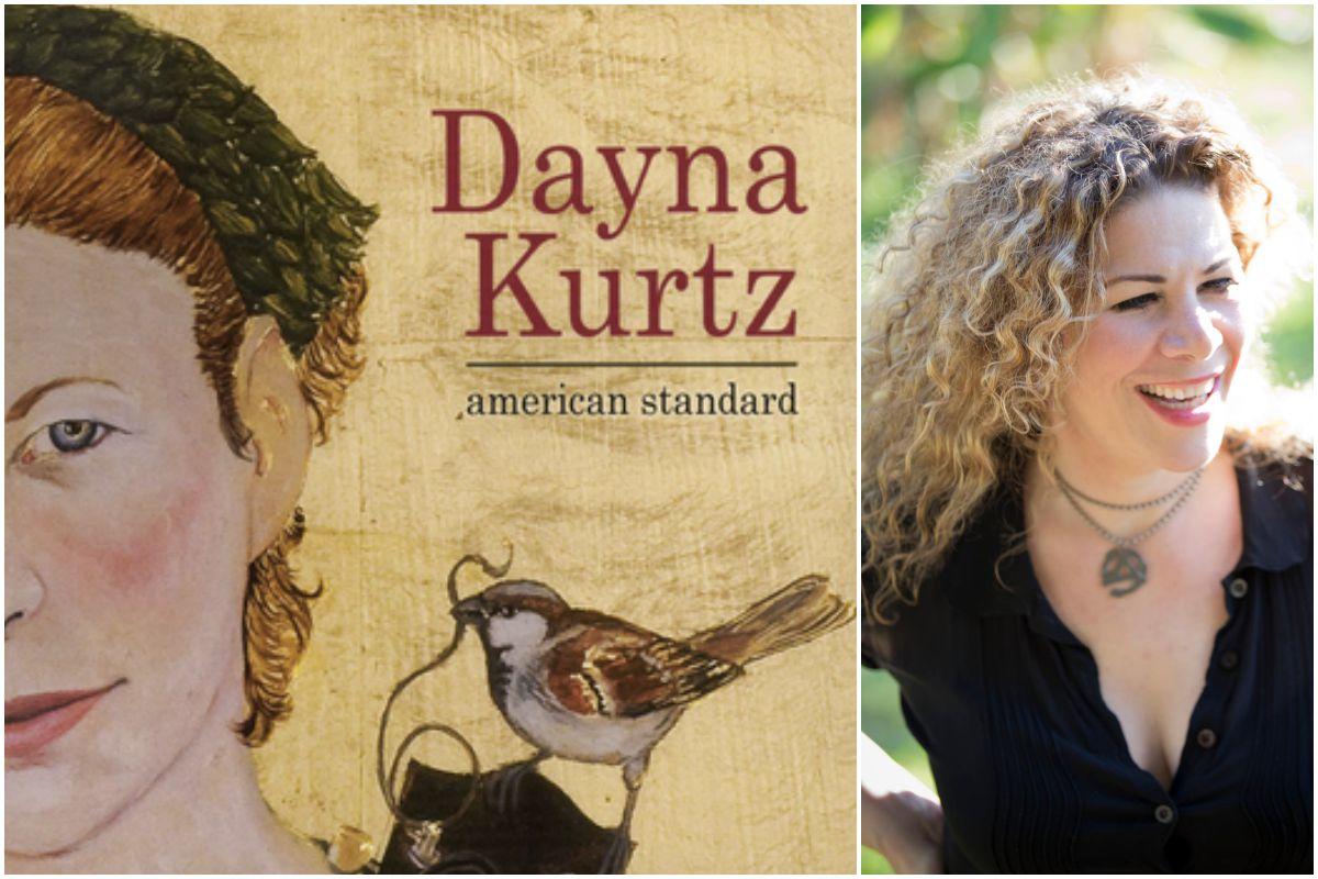 Portada del disco y un retrato de Dayna Kurtz.