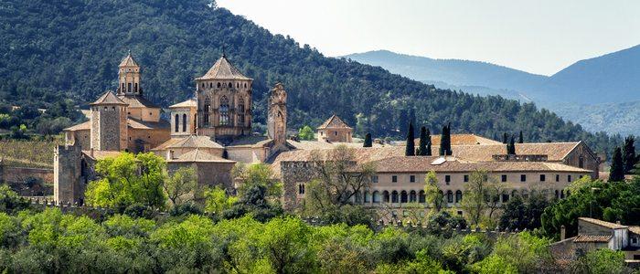 Monasterio de Poblet, Tarragona.