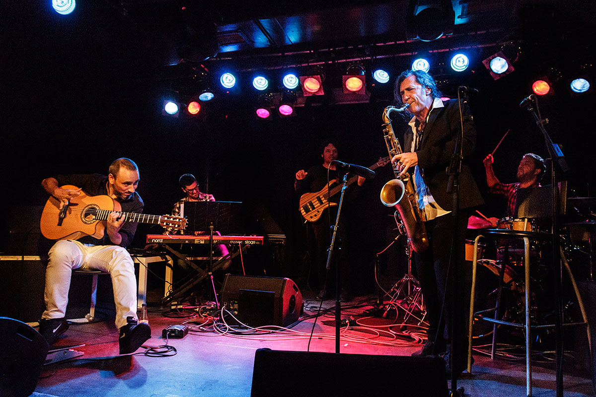 El 30 de noviembre tocará Jorge Pardo. Foto: Lucía Calatayud