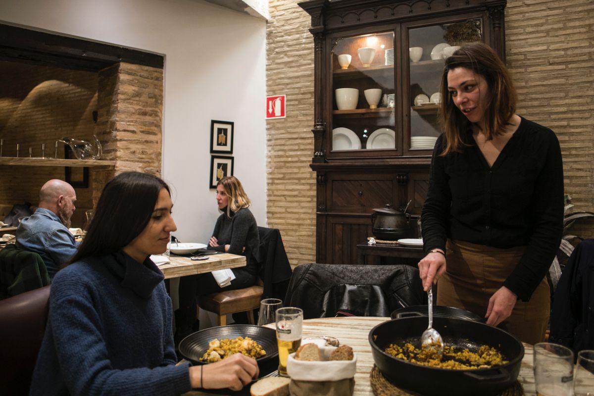 Aquí se reivindica la mejor materia prima valenciana.