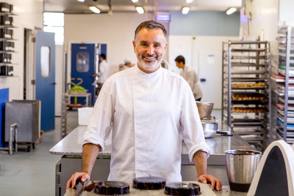 Pastelería y obrador Tugues (Lleida): retrato del pastelero Jordi Tugues