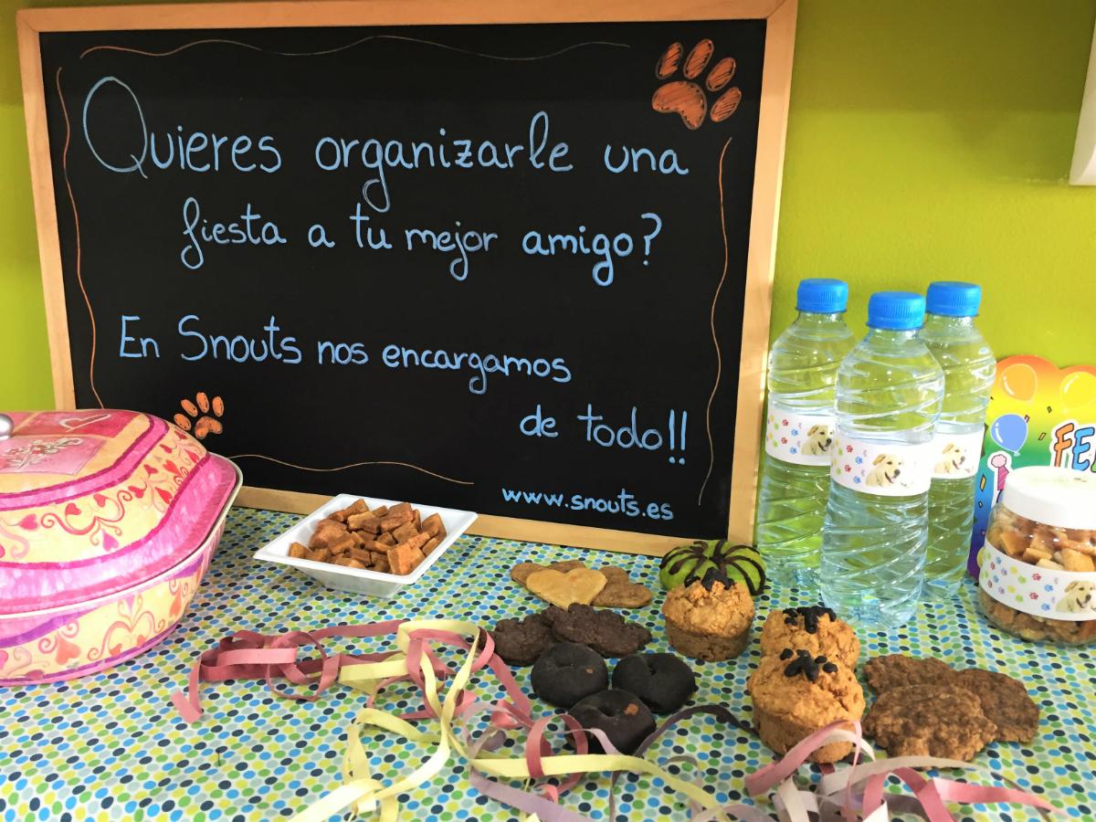 La tienda organiza cumpleaños perrunos. Foto: C.V.