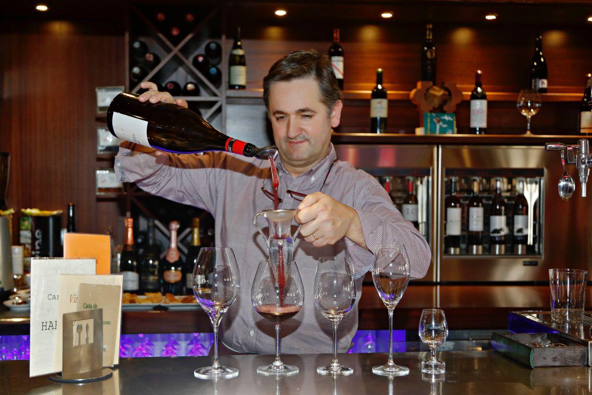Iñaki Gartxo, con más de 30 años en el mundo del vino y amante de los Rioja.
