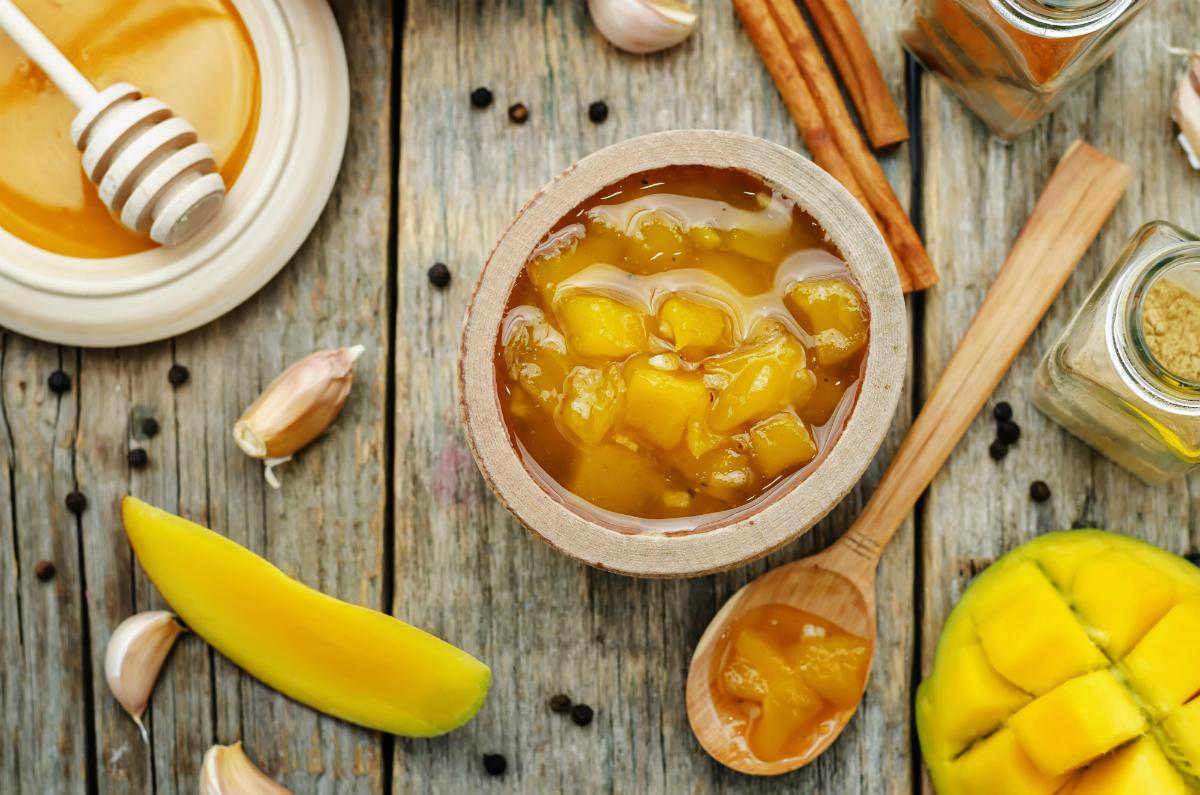 Mermelada de mango.
