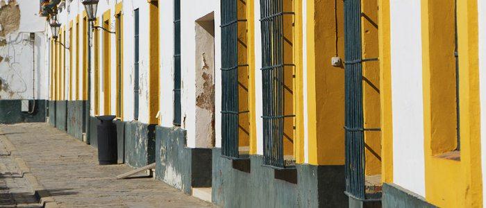 Calle típica de Tarifa.