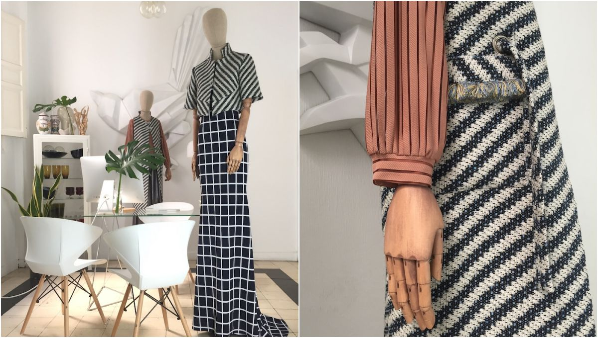 En Sevilla, visitar este atelier es otra forma de experimentar la moda. Foto: La aguja en el dedo.