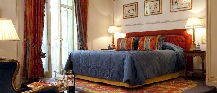 Suite Presidencial del hotel Ritz, Madrid.