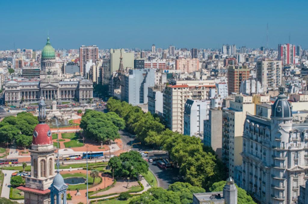 En ciudades como Buenos Aires también hay sociedades gastronómicas.