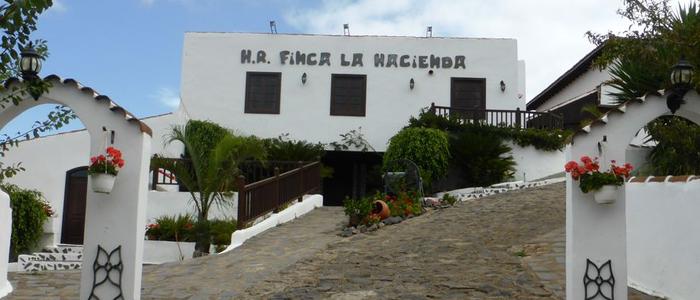 Finca La Hacienda en Tenerife.