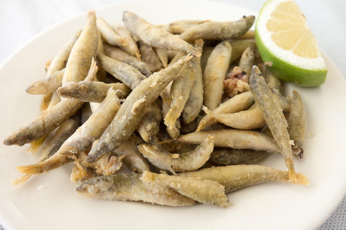 Chirretes, un pescado típico de Cartagena. Foto: Ramón Peco y Manuel Martínez.