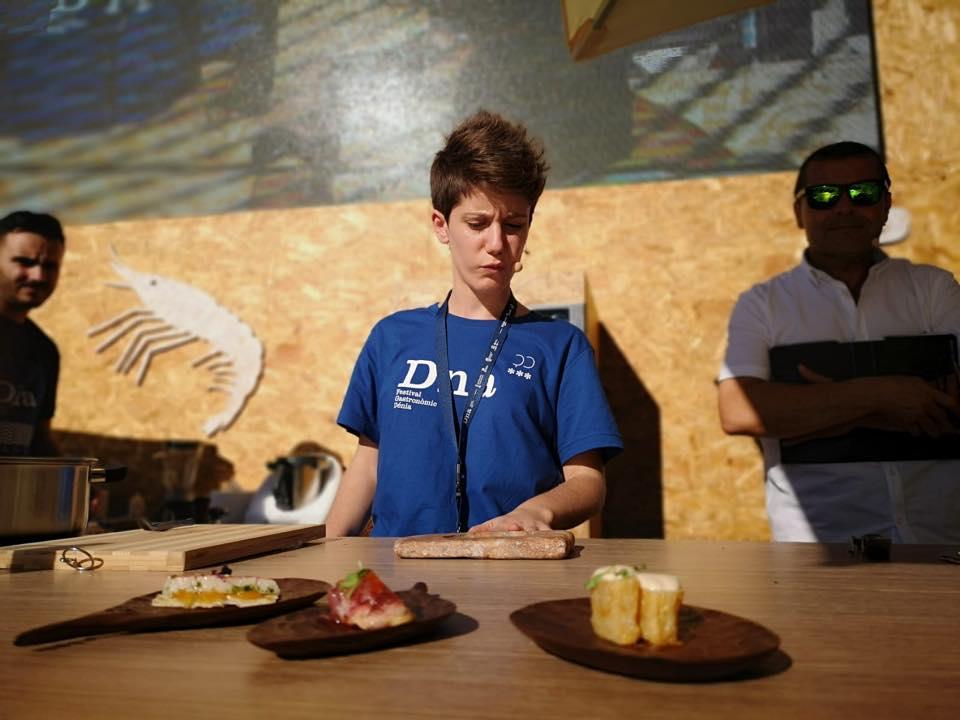 Vicky Sevilla, la joven chef de 'Arrels', que abrió hace un año. Foto: D*na Festival Dénia.