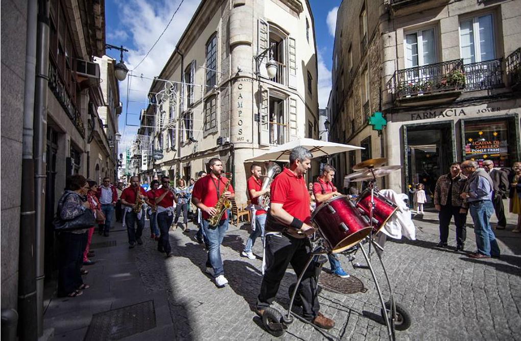 La música sale a tu encuentro. Foto: San Froilán.