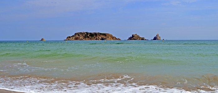 Illes Medes vistas desde l'Estartit.