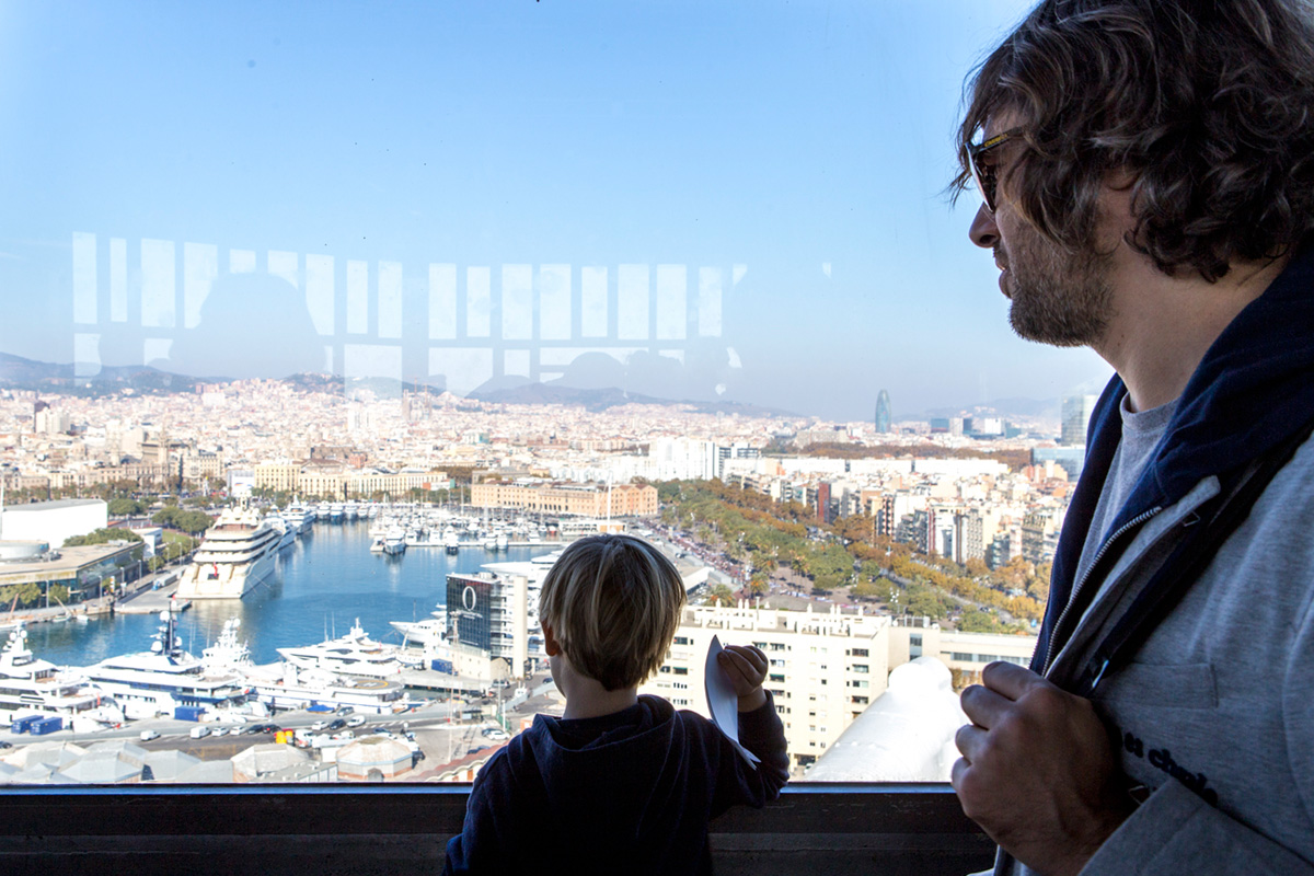 Vista desde la Torre de San Sebastián.