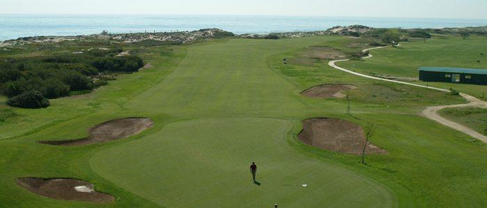 Campo de golf del Parador de El Saler.