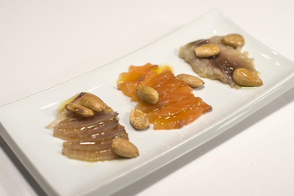 Salazones de pescado azules, con media curación y una textura jugosa.