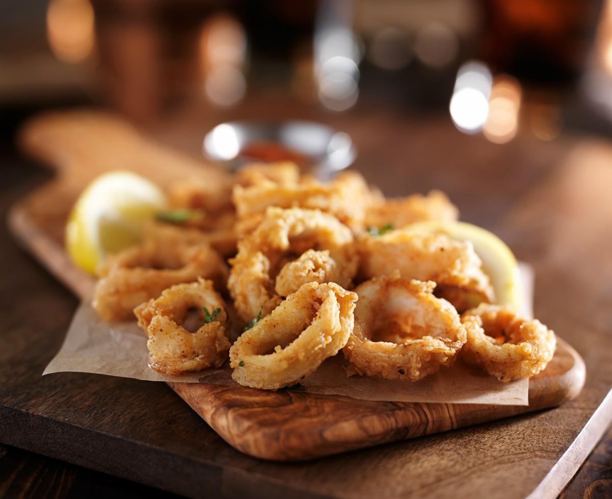 ¿Por qué renunciar a unos calamares? Foto: shutterstock.