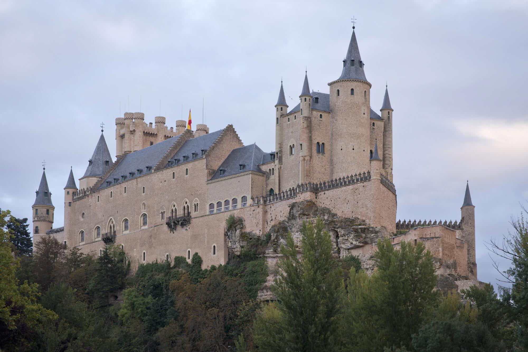 El Alcázar, cuál clíper que navega según Jan Morris.