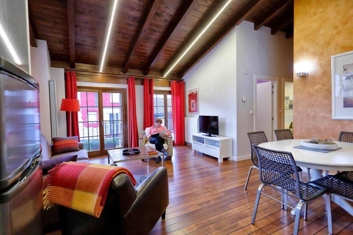 Los apartamentos son una buena opción para familias que eligen la localidad como destino turístico.