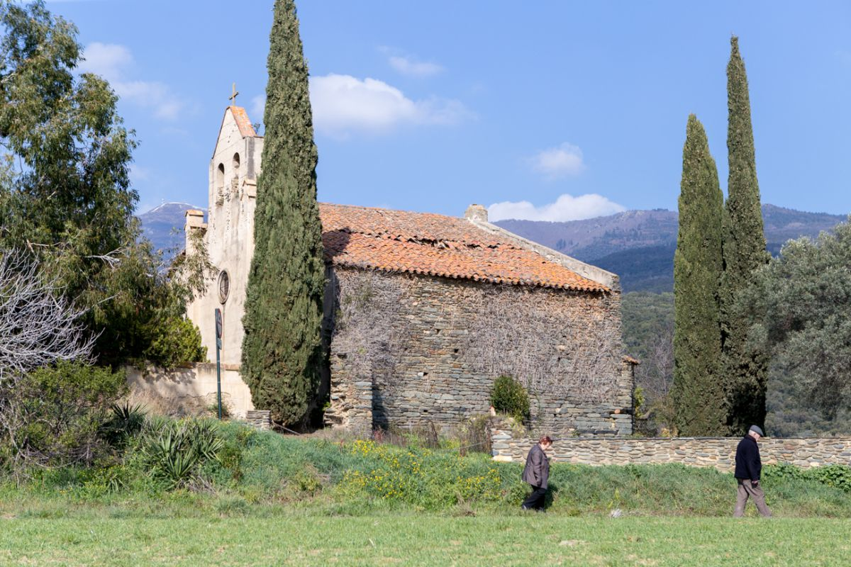 La Ermita de Santa Magdalena.