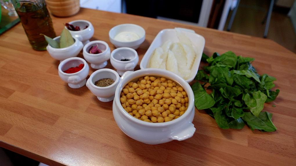 Ingredientes para el potaje. Foto: David de Luis