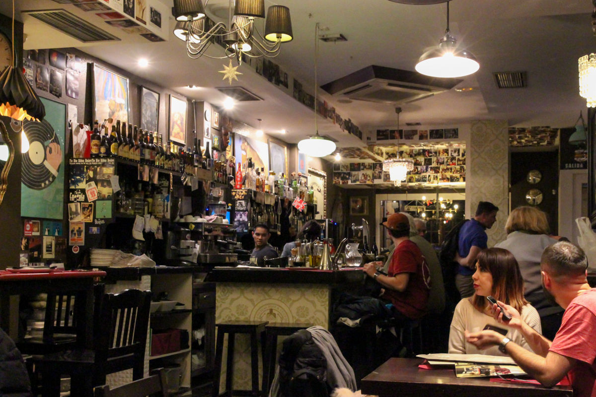 Un restaurante con ritmo, así es 'Coppola'.