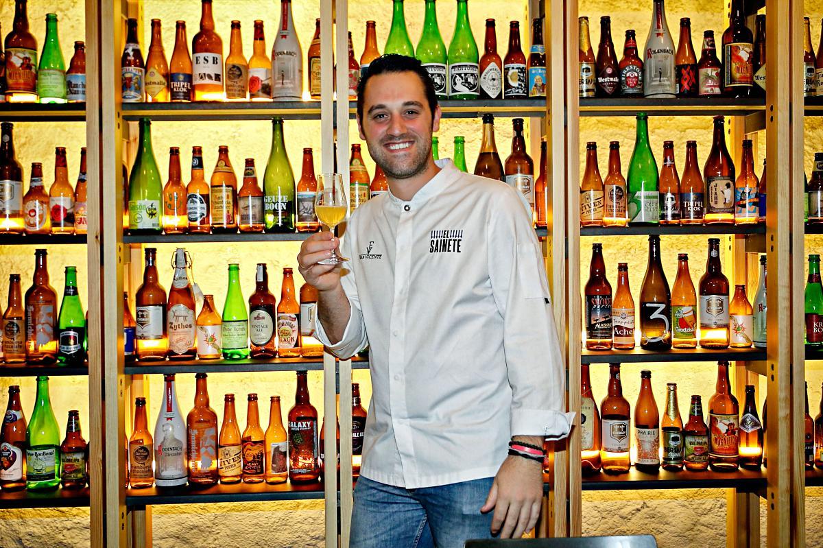 'El Sainete' ha sacado el lado más cervecero del chef