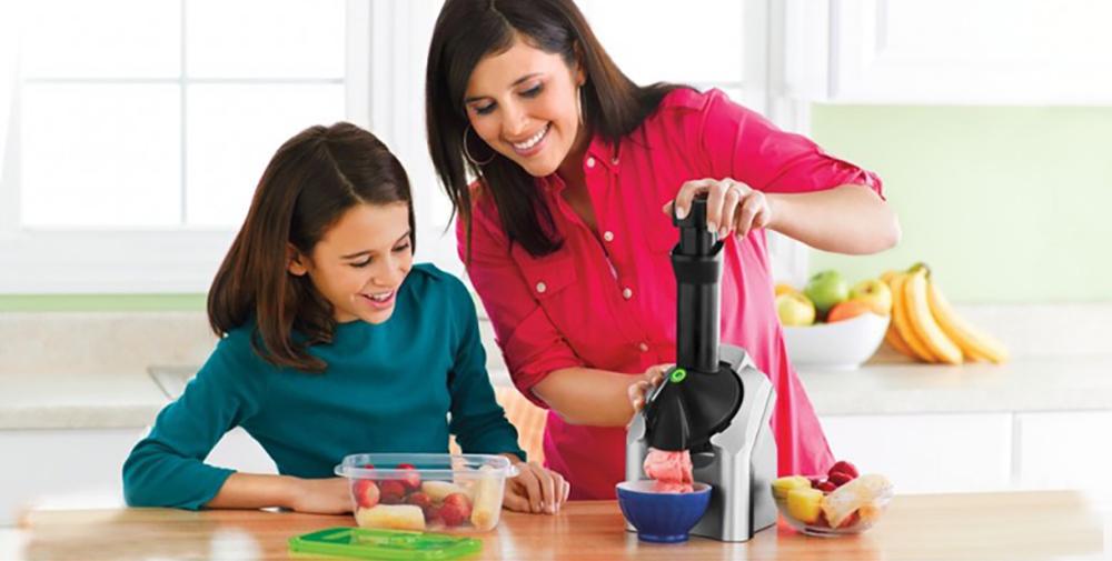 Los premios más sanos para los más pequeños con la heladera de frutas.