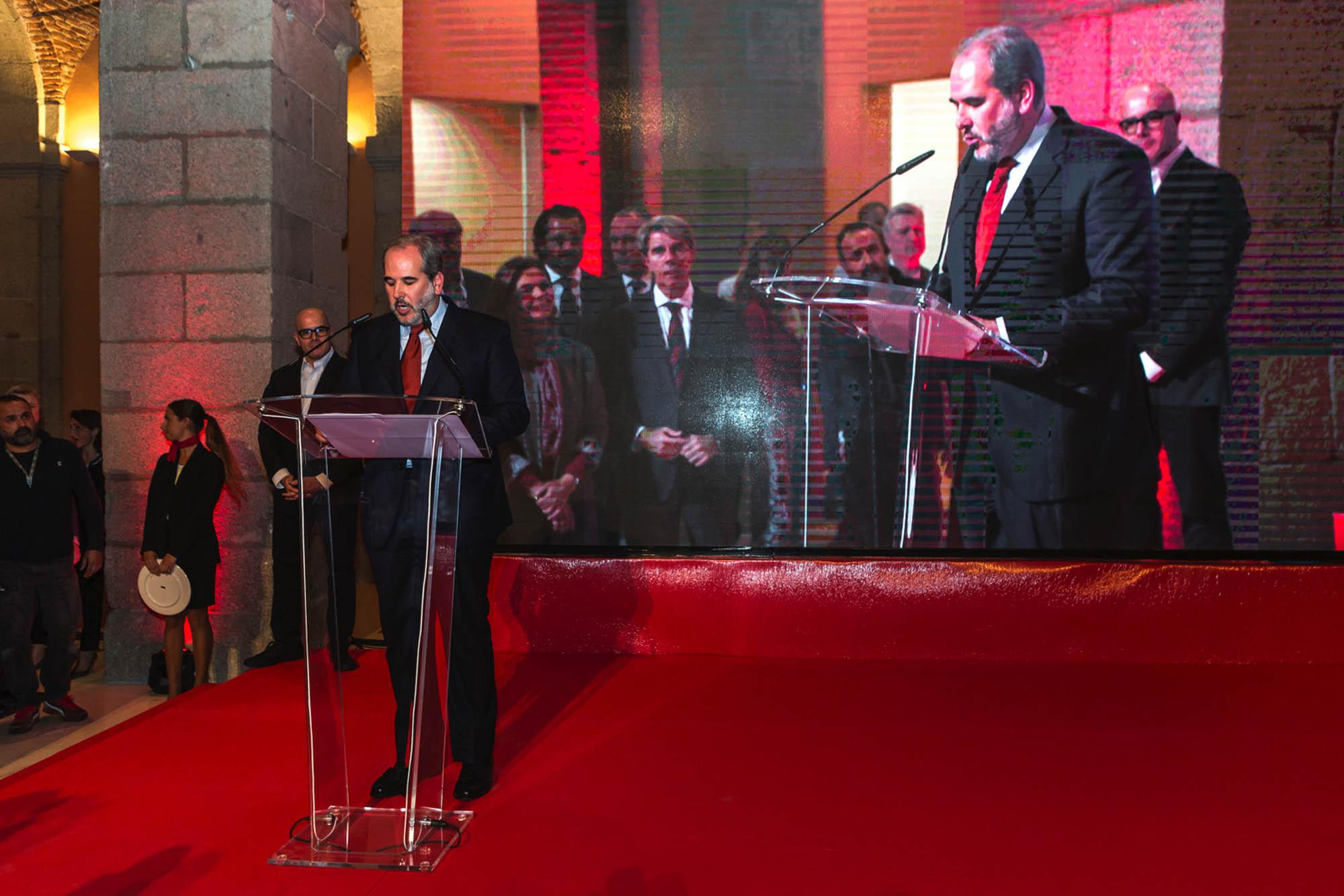 """El presidente de la Academia Madrileña de Gastronomía, Luis Suárez de Lezo, dice que han querido premiar """"la calidad y diversidad de la gastronomía de la región""""."""