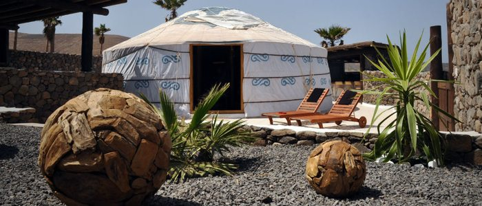 Eco Yurt en Lanzarote Retreats.