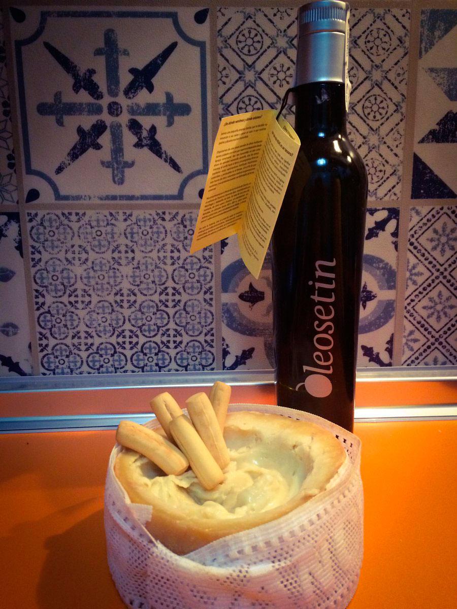 Buen aceite, buen queso. Foto: Oleosetín.