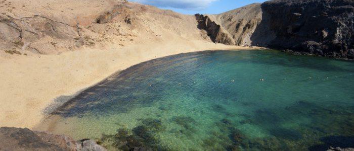 Playa del Papagayo, Lanzarote.