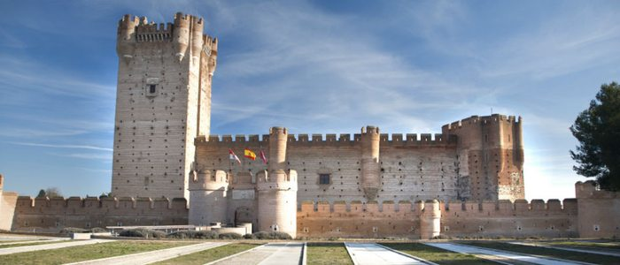 Castillo de la Mota en Medina del Campo.