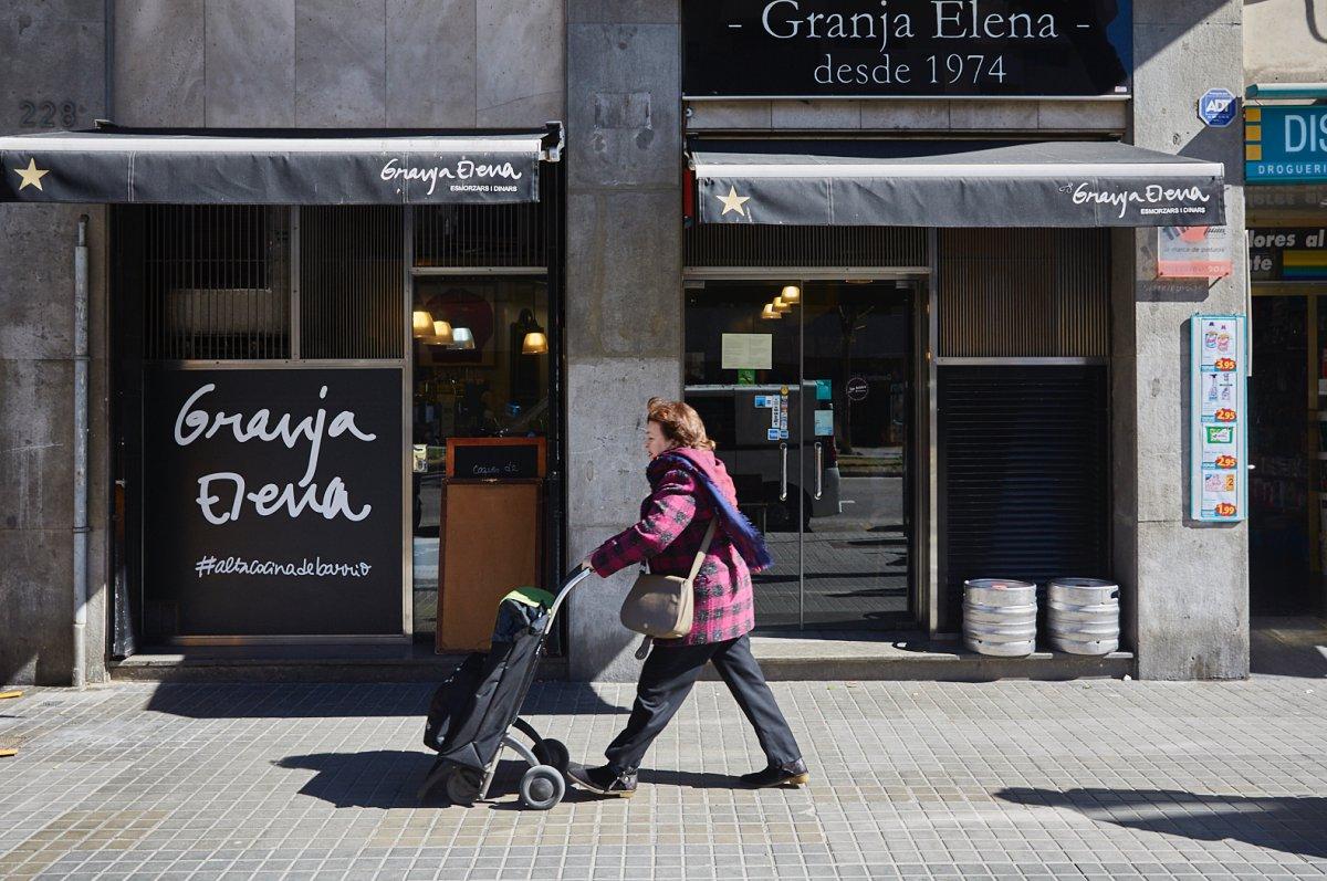 La Granja Elena, Barcelona