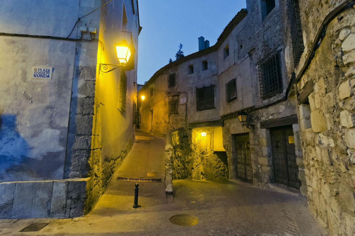 Casco viejo de Cuenca.