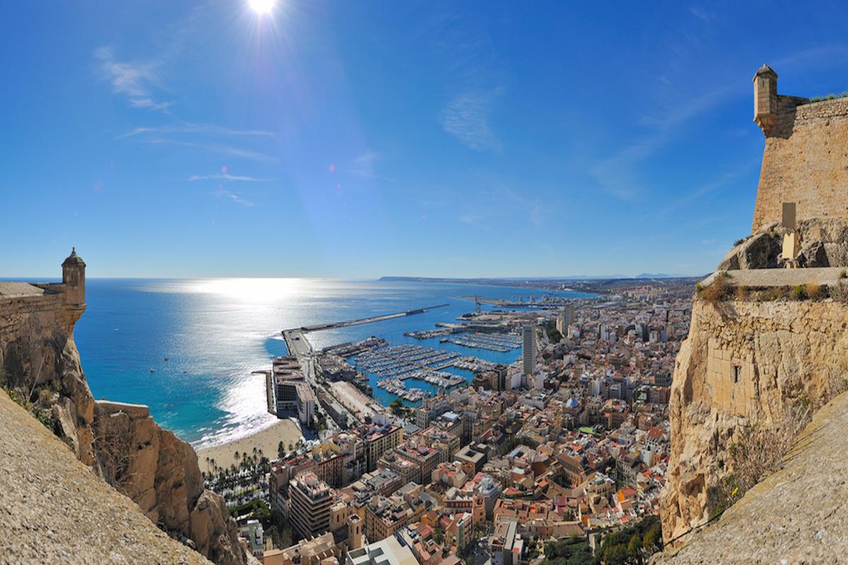 Panorámica de Alicante.