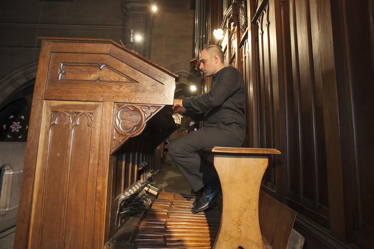Bach recorría 300 km por ver a su organista favorito. Aquí De la Rubia en Torrelavega.