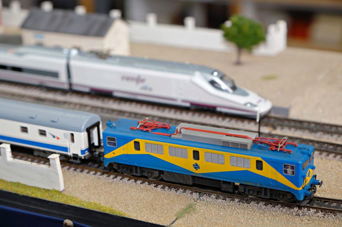 Los trenes tienen todo tipo de detalles.