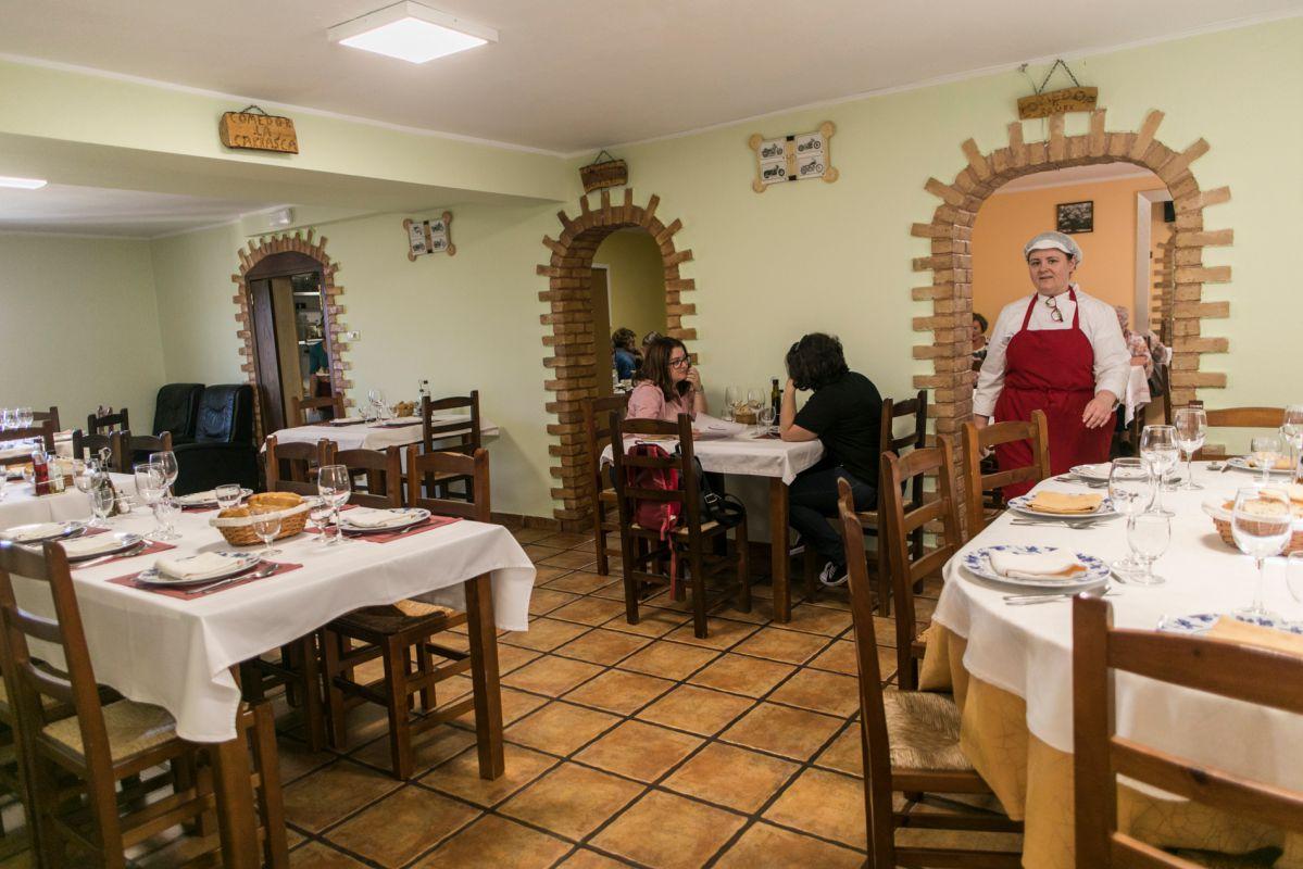 Restaurante La Carrasca, en Culla, Alt Maestrat, Castellón. Foto: Eva Máñez