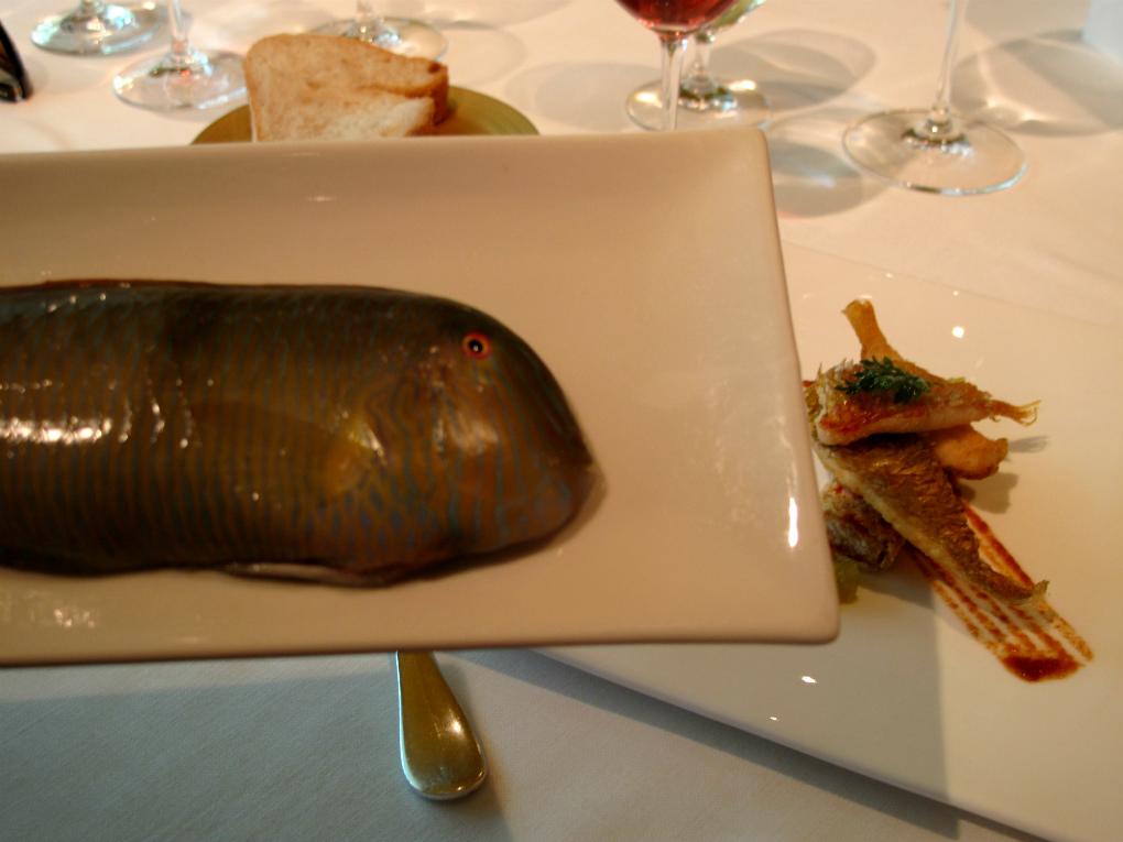 El pez loro de Carme Ruscalleda. Foto: Sara Cucala.