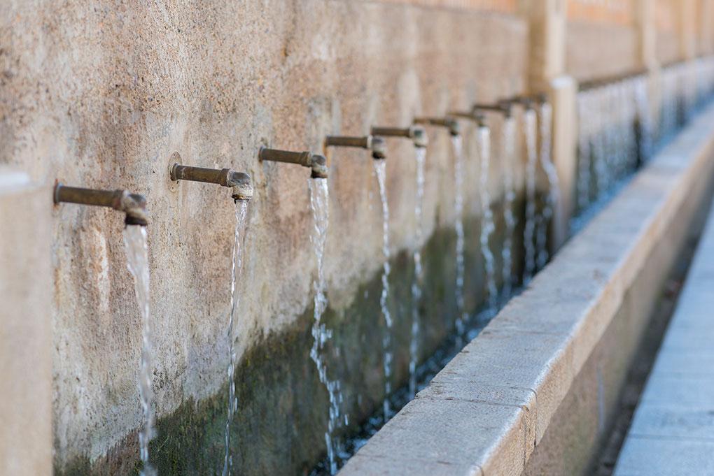 Los chorros de Segorbe. Foto: shutterstock