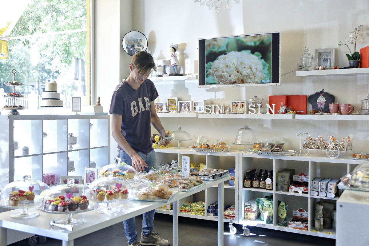 El objetivo del lugar es vender productos bonitos y deliciosos.
