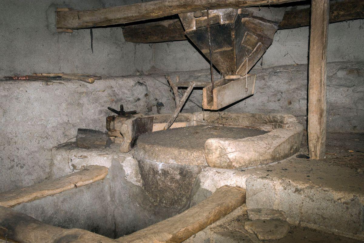 Antiguo molino de Riohonor de Castilla. Foto: Manuel Ruiz  Toribio