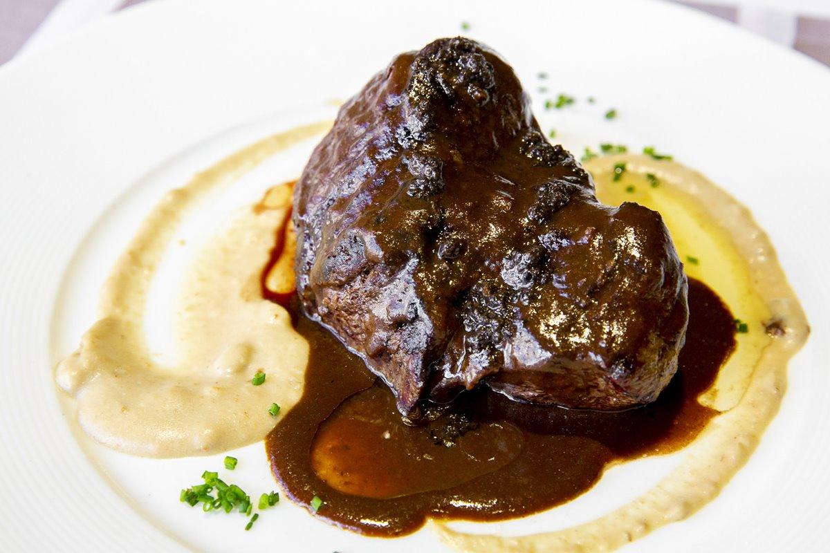 Solomillo con salsa de Trufa Melanosporum en 'La Trufa Negra'.